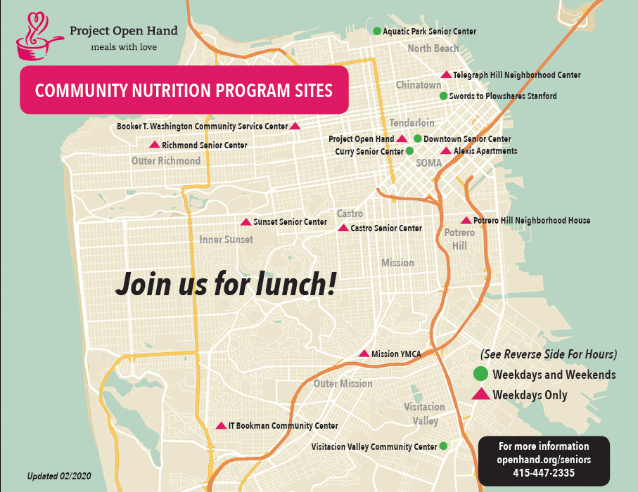 Community Nutrition Map Locations