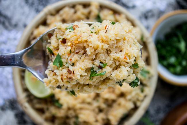 how to make cauliflower rice by hand