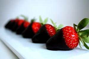 Dark Chocolate Covered Strawberries