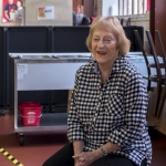 Barbara Strong has volunteered with Project Open Hand for nearly 25 years
