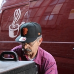"""Otto Baltodano, Lead Driver for Project Open Hand, has delivered """"untold thousands of meals"""" during his career."""