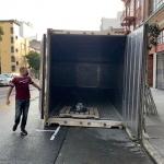 40-foot freezer trailer