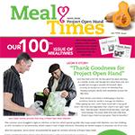 MealTimes – Our 100th Issue!