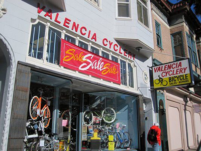 Valencia Cyclery's Annual Benefit Sale